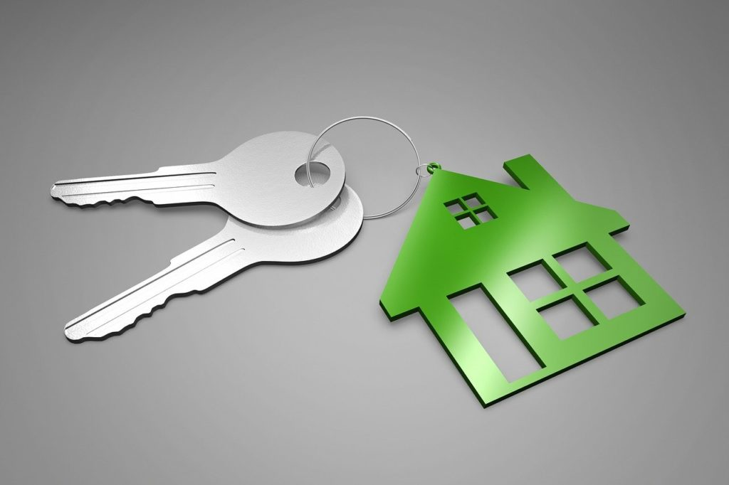 house and keys to represent inheriting a house in brenham texas